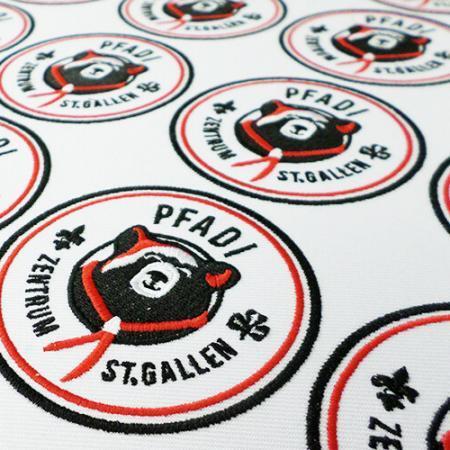 Aufnaeher Stickabzeichen Patches Verein