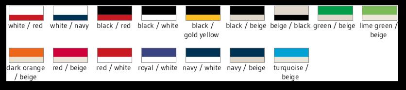Farben Caps zum besticken aus Stoff