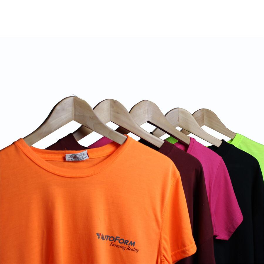 Eventlogo auf T-Shirt drucken lassen