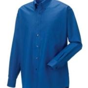 Oxford Hemd aztec blau
