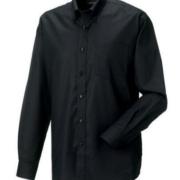 Oxford Hemd schwarz
