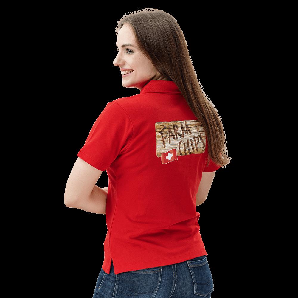 Poloshirt für Damen bedrucken