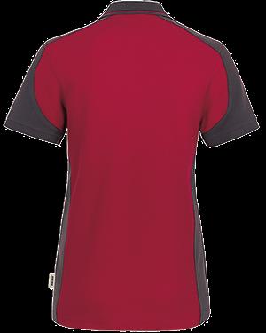 Poloshirt Damen Besticken Bedrucken Contrast Performance Hakro Hinten 239