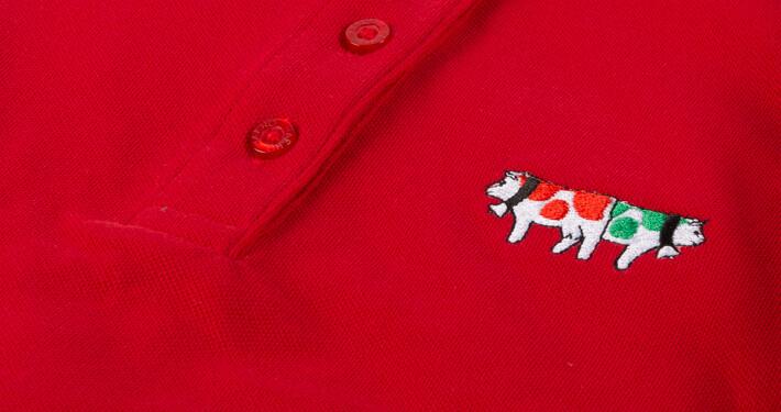 Poloshirts bestickt mit Logo