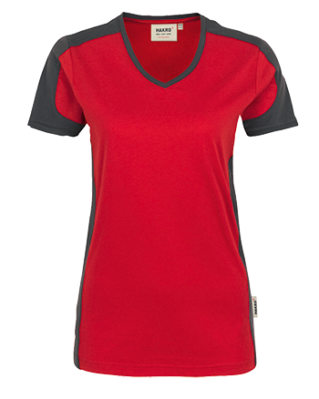 T Shirt Besticken Bedrucken Hakro Damen Performance Vorne 190