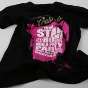 T-Shirt mit Textildruck