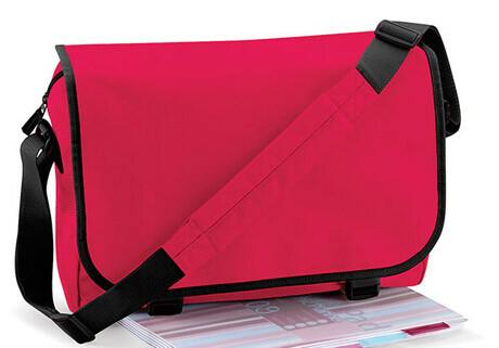 Tasche rot ohne Stickerei