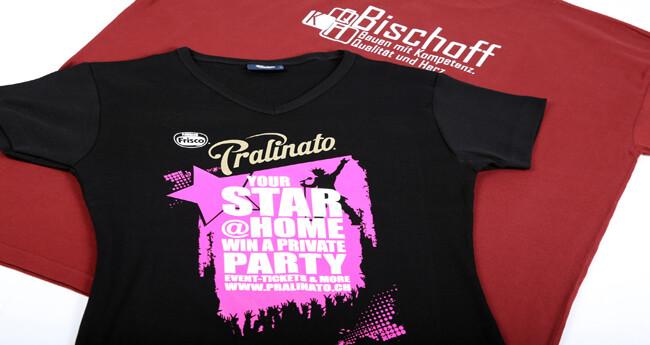 Textildruck T-Shirts