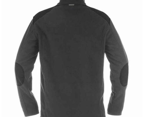 Workwear Fleece Jacke grau schwarz rue